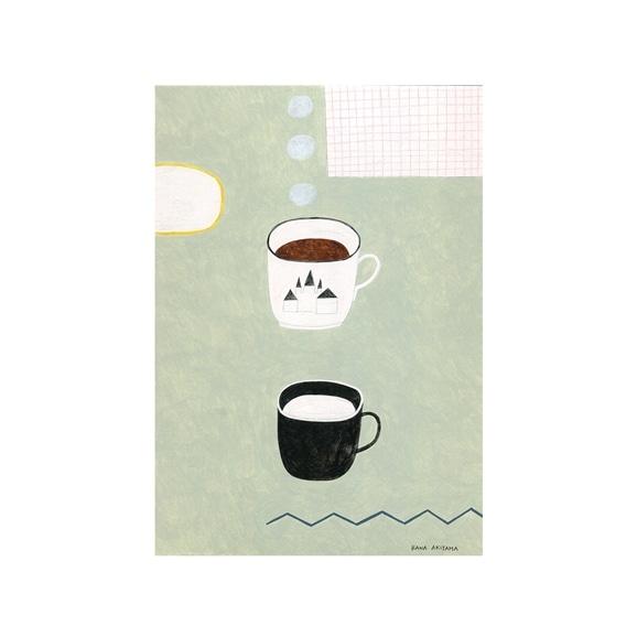 【写真】秋山 花 「The herb coffee & the hot milk」