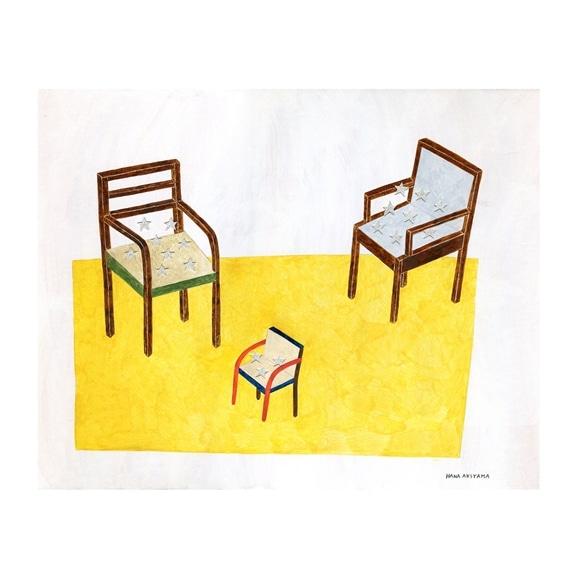 【写真】秋山 花 「3 chairs」