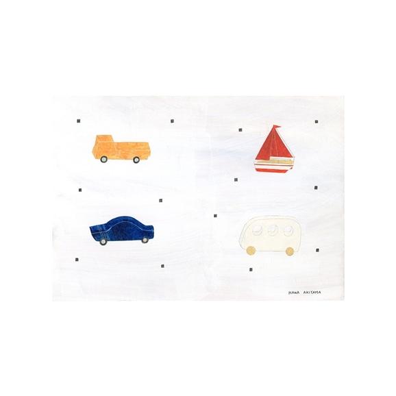 【写真】【一点物】秋山 花 「The wooden toys」