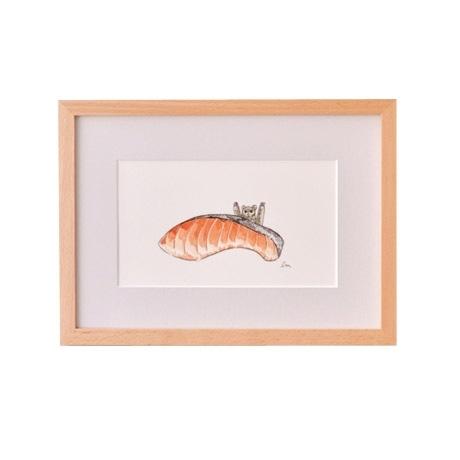 【写真】【一点物】前田 麦 「生鮭」
