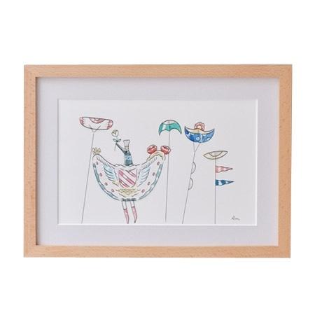 【写真】【一点物】前田 麦 「鳥と凧」