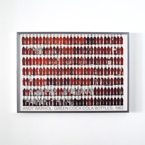 【写真】アンディ・ウォーホル 「Green Coca Cola Bottles」