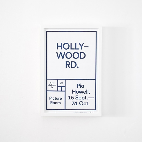 【写真】Picture Room Exhibition 「HOLLY-WOOD RD.」