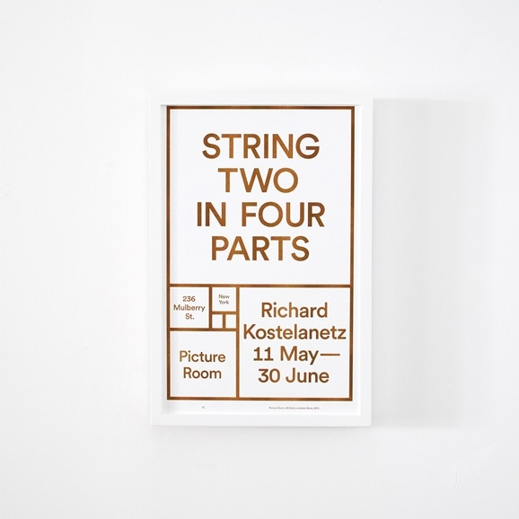 【写真】Picture Room Exhibition 「STRING TWO IN FOUR PARTS」