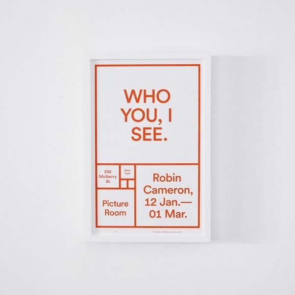 【写真】Picture Room Exhibition 「WHO YOU,I SEE」