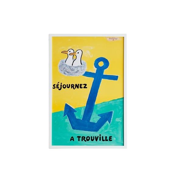 【写真】サヴィニャック 「Sejournez a Trouville 1996」