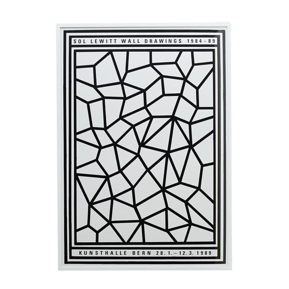 """【写真】ソル・ルウィット 「Walldrawings"""" Kunsthalle Bern 1989」"""