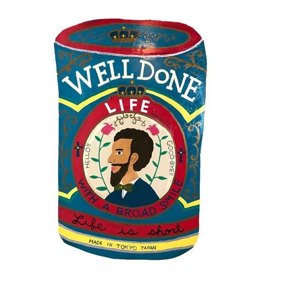 【写真】【一点物】そで山 かほ子 「WELLDONE CAN」