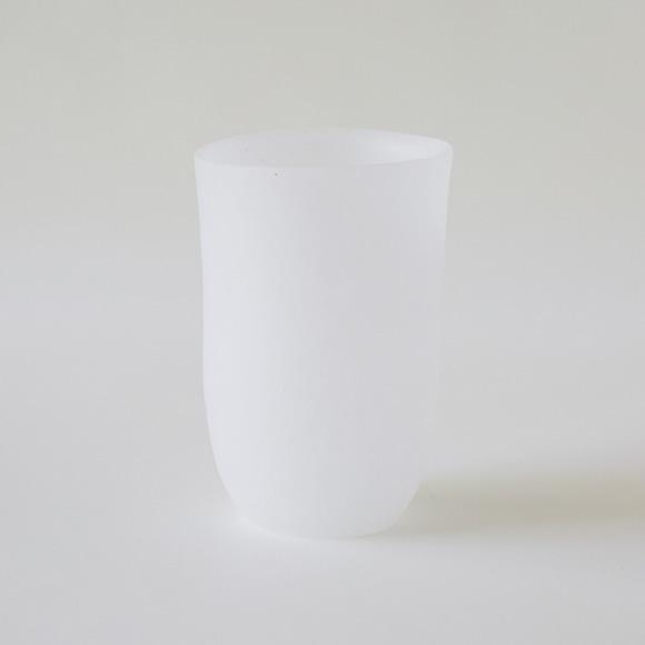 【写真】奥田康夫 長丸杯-白-