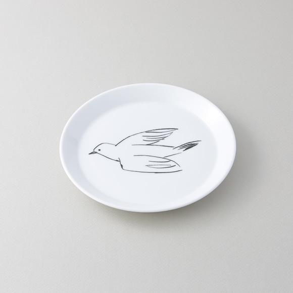 【写真】50★IDEE blanco y negro Bird プレート S