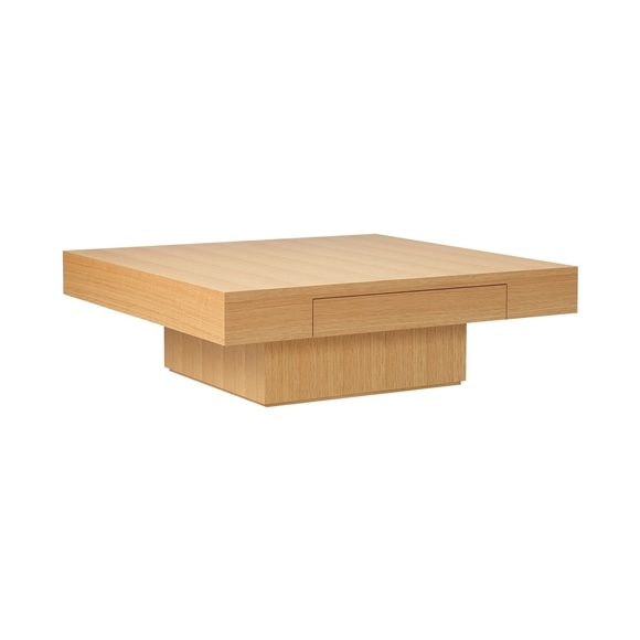 【写真】De-foe SQUARE LOW TABLE Natural