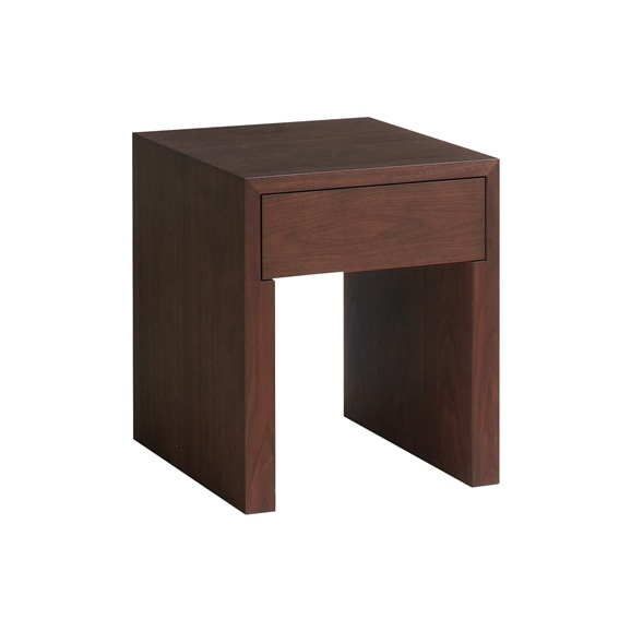 【写真】MARGOT SQUARE SIDE TABLE Walnut