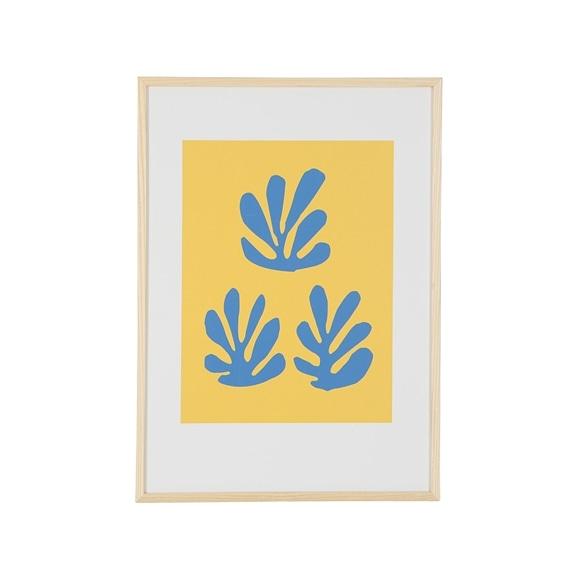 【写真】アンリ・マティス 「青いシートと黄色い背景」