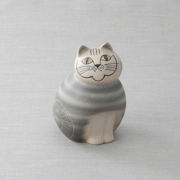 【写真】【定番品】Lisa Larson Cat MIA Gray medium