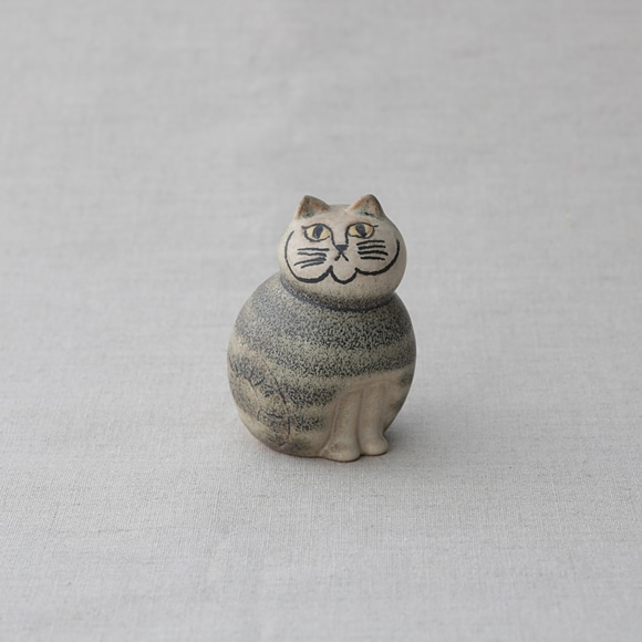 【写真】【定番品】Lisa Larson Cat MIA Gray mini
