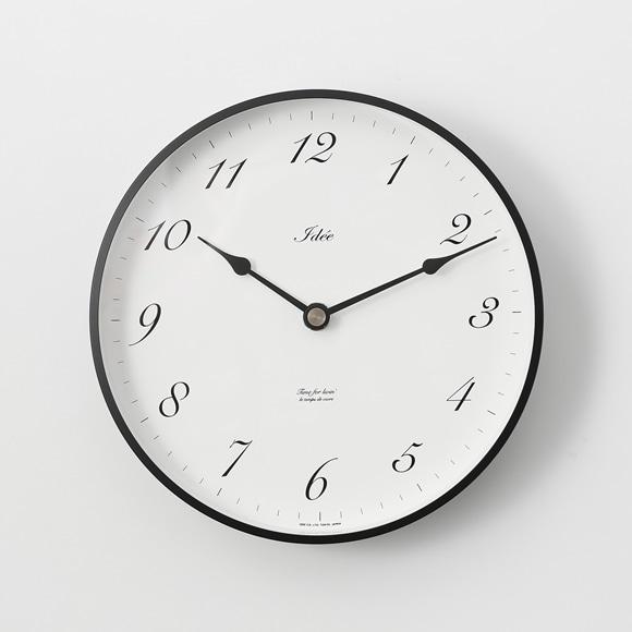 【写真】IDEE TIMING 掛け時計 アラビア数字