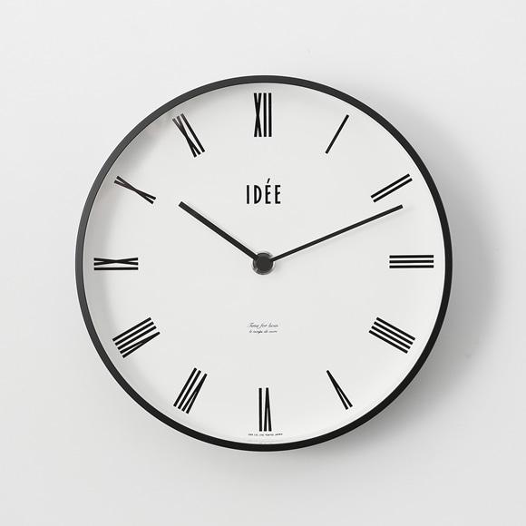 【写真】IDEE TIMING 掛け時計 ローマ数字