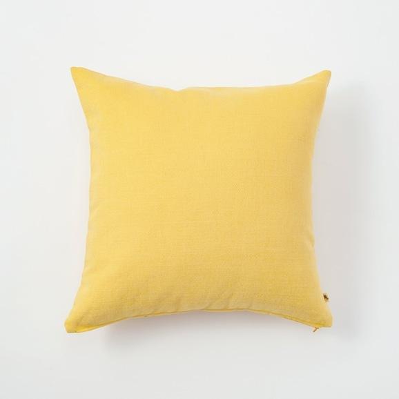 【写真】IDEE CALEIDO クッションカバー 40cm角 Mustard