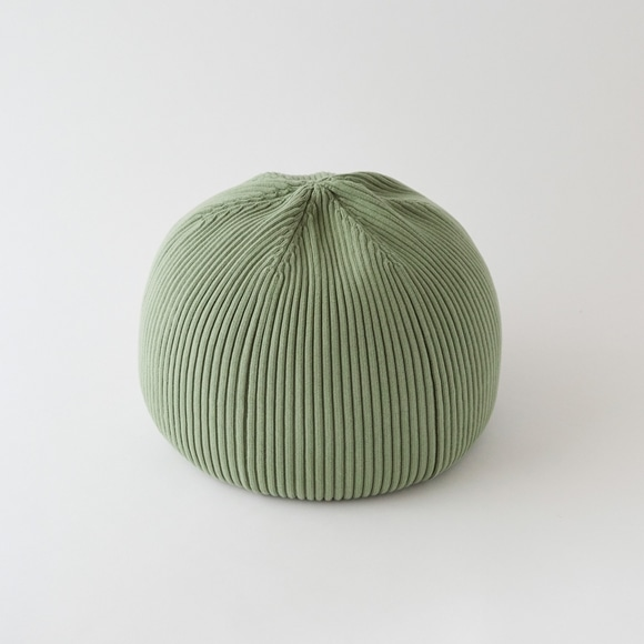 【写真】MINI PUUF Bright Green【MUJI meets IDEE 限定カラー】