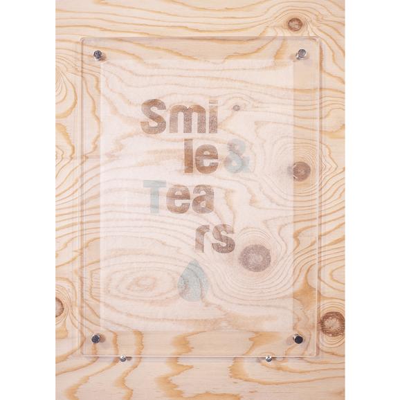 【写真】【一点物】Paper Parade Printing 「smile & tears」