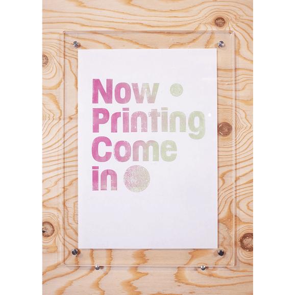 【写真】【一点物】Paper Parade Printing 「Now Printing」