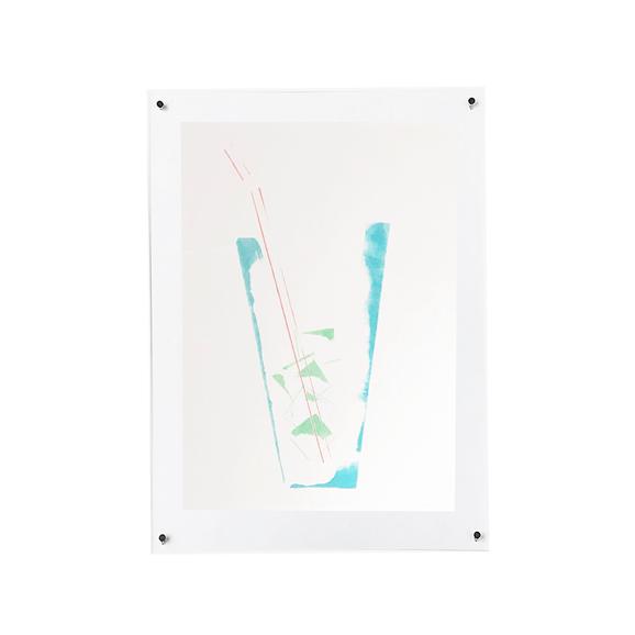 【写真】【一点物】Paper Parade Printing 「Glass」