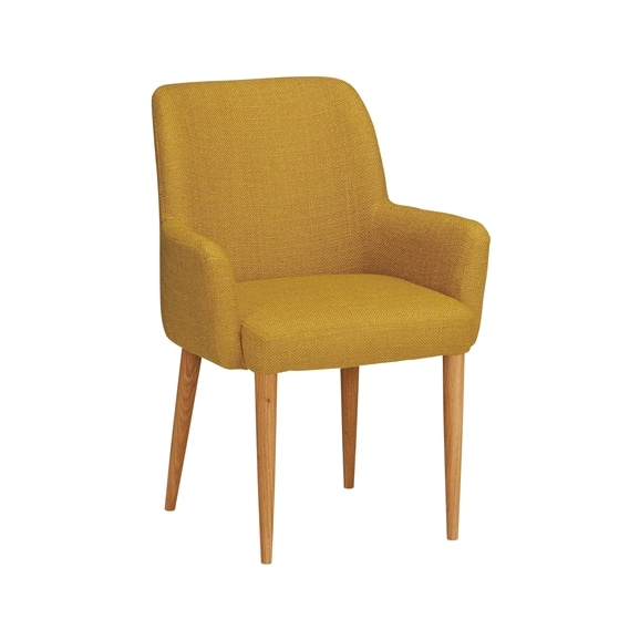 【写真】LIEVRE ARM CHAIR Mustard