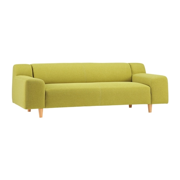 【写真】PLAISIR SOFA Yellow green