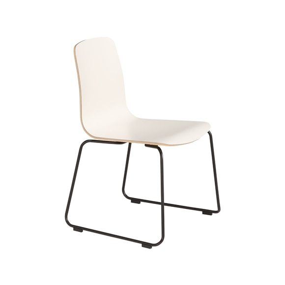 【写真】LANGUE STACKING CHAIR White