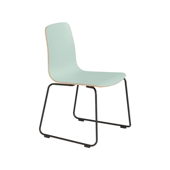 【写真】LANGUE STACKING CHAIR Green