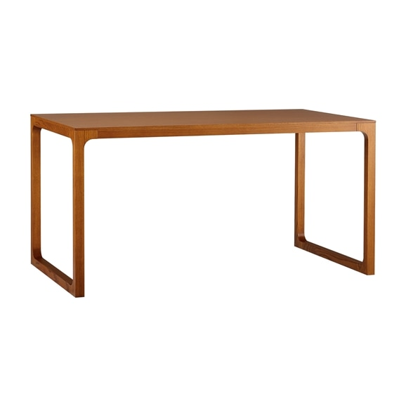 【写真】MALUH DINING TABLE 1450 ANTON brown