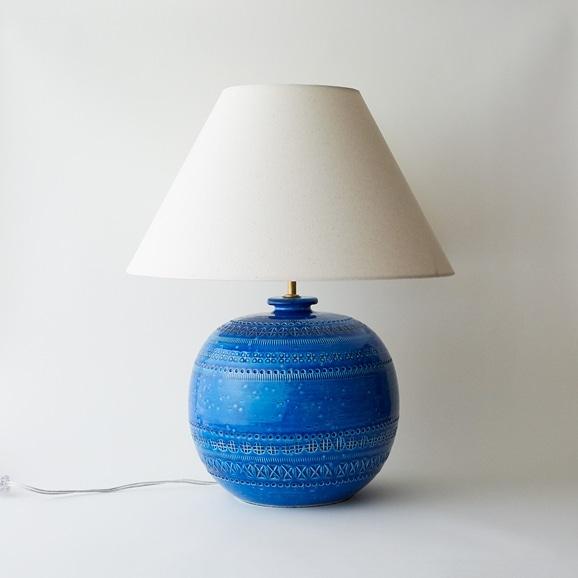 【写真】BITOSSI リミニブルー Vase Lamp low