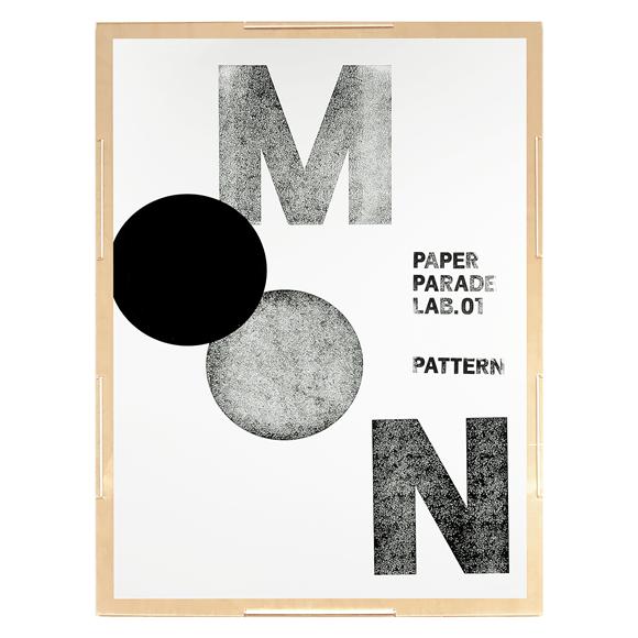 【写真】【一点物】Paper Parade Printing 「Moon」