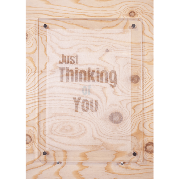 【写真】【一点物】Paper Parade Printing 「Just thinking of you」