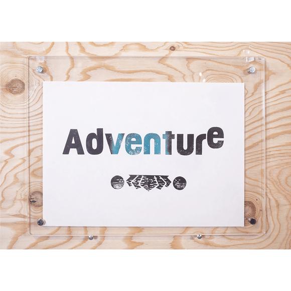 【写真】【一点物】Paper Parade Printing 「Adventure」