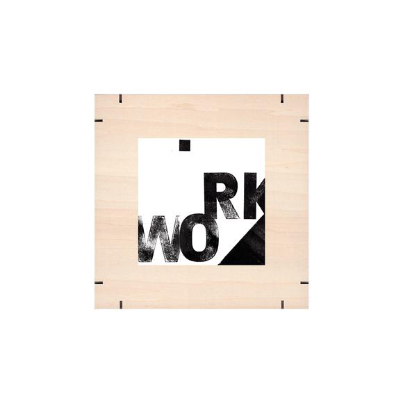 【写真】【一点物】Paper Parade Printing 「WORK」