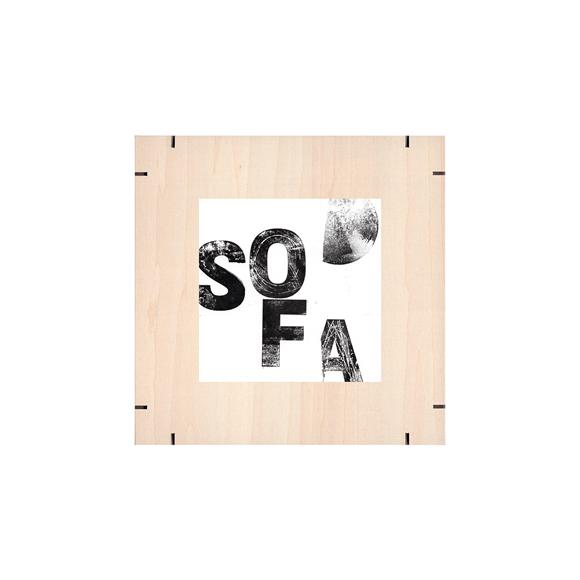 【写真】【一点物】Paper Parade Printing 「Sofa」