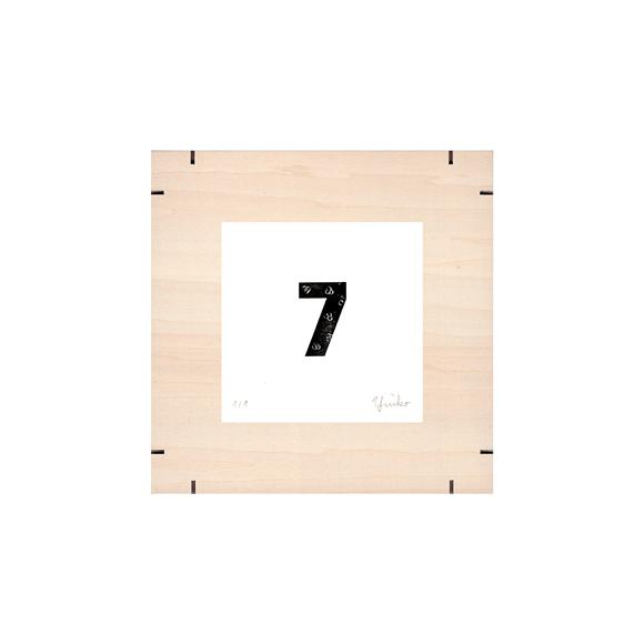 【写真】【一点物】Paper Parade Printing 「365days 7」