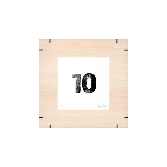 【写真】【一点物】Paper Parade Printing 「365days 10」