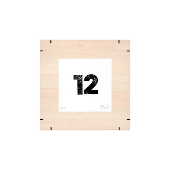 【写真】【一点物】Paper Parade Printing 「365days 12」
