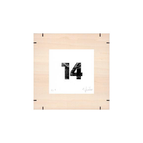 【写真】【一点物】Paper Parade Printing 「365days 14」