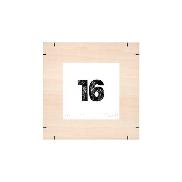 【写真】【一点物】Paper Parade Printing 「365days 16」