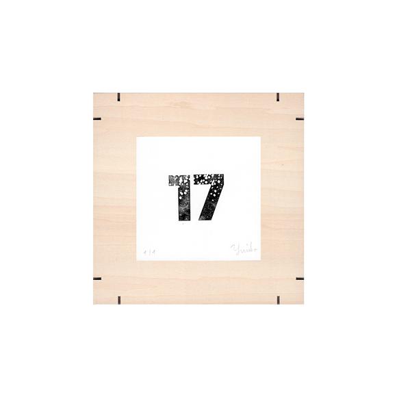 【写真】【一点物】Paper Parade Printing 「365days 17」