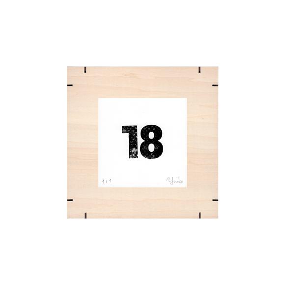 【写真】【一点物】Paper Parade Printing 「365days 18」