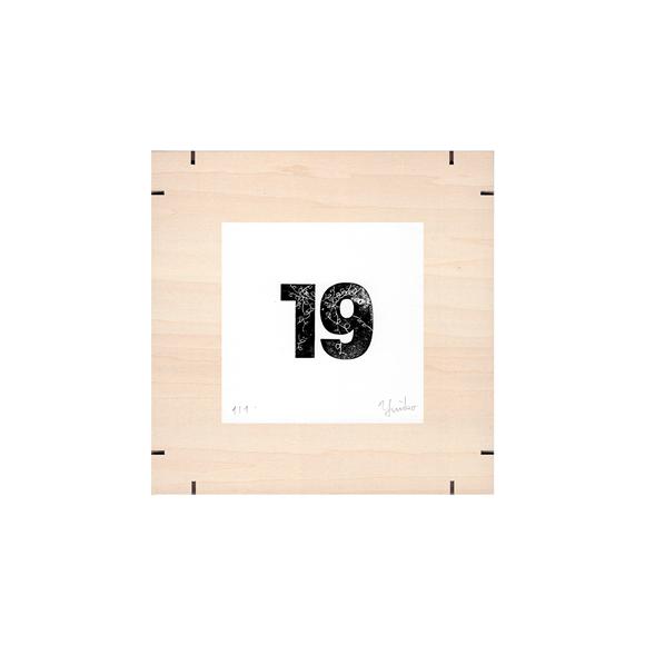 【写真】【一点物】Paper Parade Printing 「365days 19」