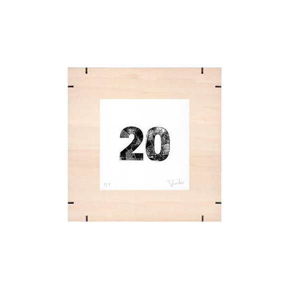 【写真】【一点物】Paper Parade Printing 「365days 20」