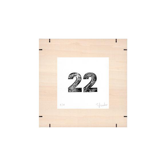 【写真】【一点物】Paper Parade Printing 「365days 22」