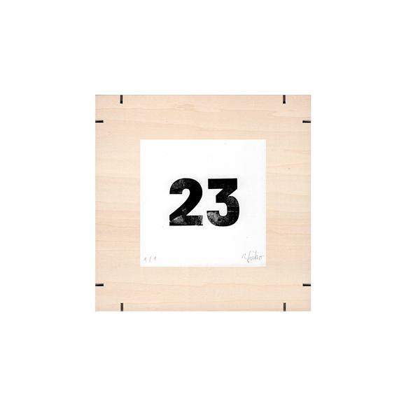 【写真】【一点物】Paper Parade Printing 「365days 23」