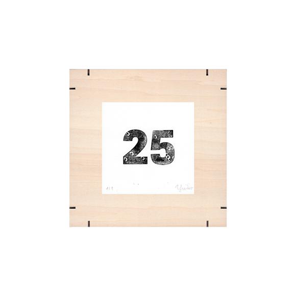 【写真】【一点物】Paper Parade Printing 「365days 25」
