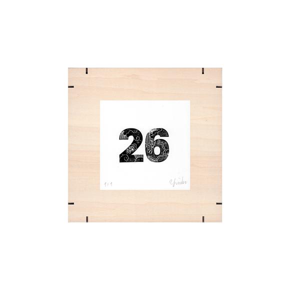 【写真】【一点物】Paper Parade Printing 「365days 26」
